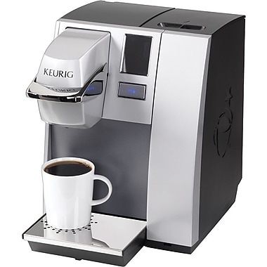 Personal Coffee Maker For Office : Keurig? OfficePRO? Premier Single-Cup Coffee Brewing System, Black/Silver Staples?