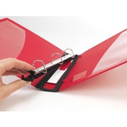 1 Staples® Better® Binder with Removable FileRings™, Red