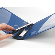 1 Staples® Better® Binder with Removable FileRings™, Blue
