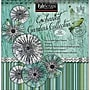 Fabscraps Enchanted Gardens Paper Flowers Die-Cut Pad, 8