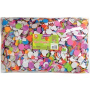 Fibre Craft Foam Sticker Geometric Shapes 24 Ounces/Pkg, Assorted Colors