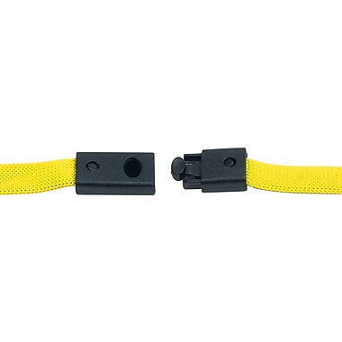 Staples® 20in. Flash Drive Lanyard (Yellow)