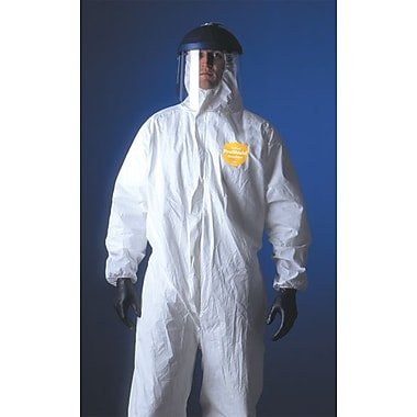 Dupont™ ProShield® NexGen® NG122S Chemical Protective Coverall, White, 3X-Large