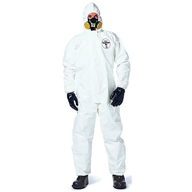 Dupont™ Tychem® SL122B Chemical Protective Coverall, White, 3X-Large