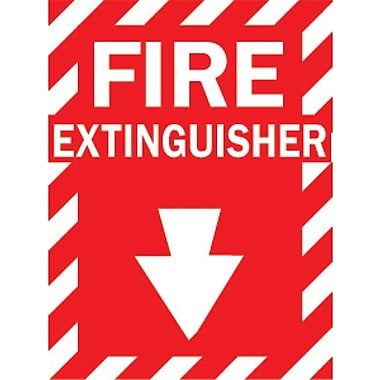 Brady® 86091 Fire Extinguisher Sign