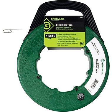 Greenlee® 332-438-5H MagnumPro Fish Tape, Steel, 50'