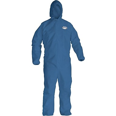 KleenGuard® A20 Lightweight Breathable Particle Protective Coverall, Blue, 2X-Large