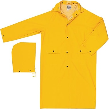 River City® 200C Classic Rain Coat, Yellow, Large