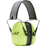 Howard Leight by Honeywell® Leightning® 1013942 Hi-Visibility Folding Earmuff, 27 db
