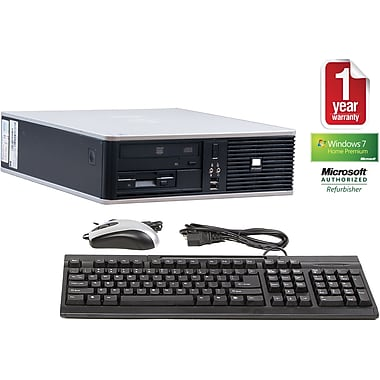 Refurbished HP DC7900, 160GB Hard Drive, 4GB Memory, Intel Core 2 Duo (2.4 Ghz), Win 7 Home