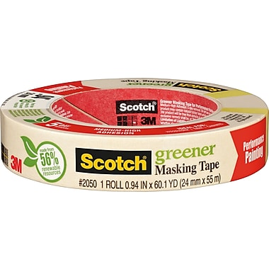 Scotch® Greener Masking Tape, 1