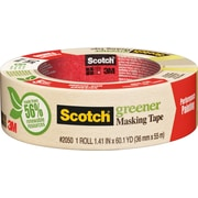 Scotch® Greener Masking Tape, 1.5 x 60 Yards