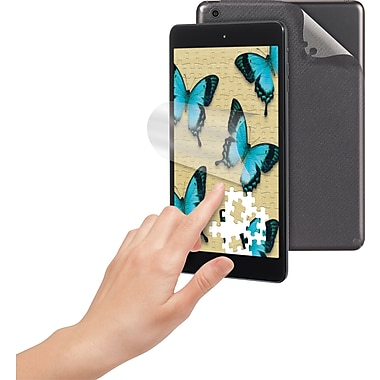 3M™ Natural View Fingerprint Fading Screen Protector+Back Skin Apple® iPad® Mini
