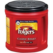 Folgers Classic Roast Ground Coffee, Regular, 33.9 oz. Can