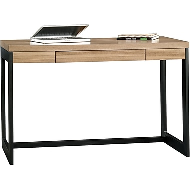 Sauder Kirby Desk, Pale Walnut