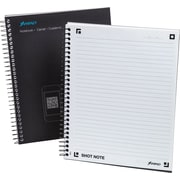 "Ampad® Shot Note® Spiral Notebook, Medium Ruled, 9 1/2"" x 7 3/4"", 60 Sheets"