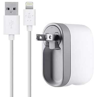 Belkin Swivel Charger + Lightning ChargeSync Cable, 4ft