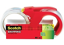 Scotch® High-Performance Sure-Start Packaging Tape, Clear, 1.88' x 38.2 yds, 2/Pack