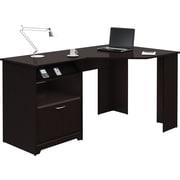 Bush® Cabot Collection Corner Desk, Espresso Oak
