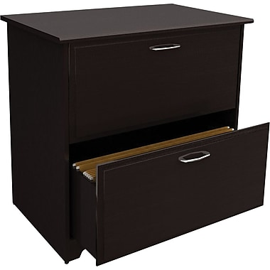 Bush® Cabot Collection Lateral File, Espresso Oak