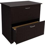 Bush® Cabot Collection Lateral File, Espresso Oak