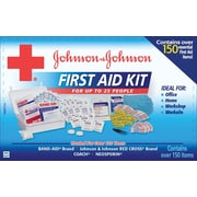 Johnson & Johnson® 153 Piece Professional/Office First Aid Kit for 25 People, Plastic Case