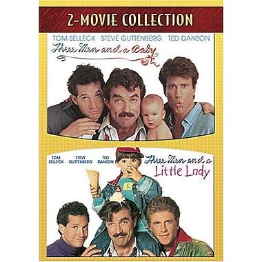 Three Men And A Baby / Three Men And A Little Lady 2-Movie Collection
