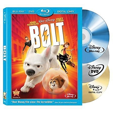 Bolt (Blu-Ray + DVD + Digital Copy)