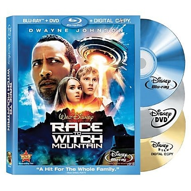 Race To Witch Mountain (Blu-Ray + DVD + Digital Copy)