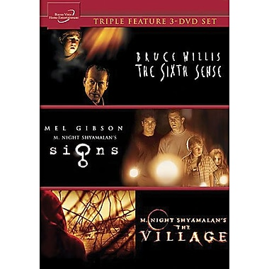 Signs / The Village / The Sixth Sense 3-Movie Collection