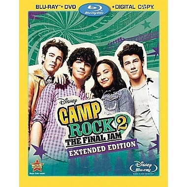 Camp Rock 2: The Final Jam Extended Edition (Blu-Ray + DVD + Digital Copy)