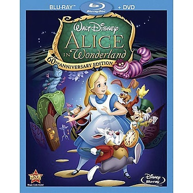 Alice In Wonderland 60th Anniversary Edition (Blu-Ray + DVD)