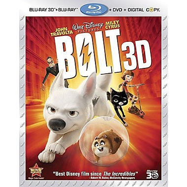 Bolt 3D (Blu-ray + DVD + Digital Copy)