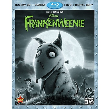 Frankenweenie 3D (Blu-Ray + DVD + Digital Copy)