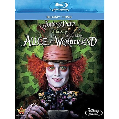 Alice In Wonderland (Blu-Ray + DVD)