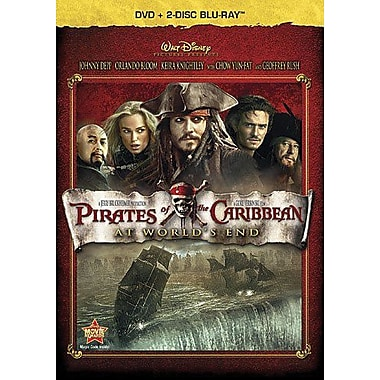 Pirates Of The Caribbean: At World's End (DVD + Blu-Ray)
