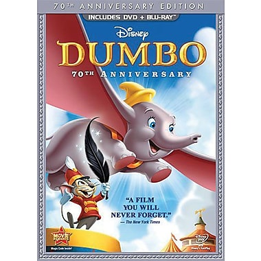 Dumbo 70th Anniversary Edition (DVD + Blu-Ray)