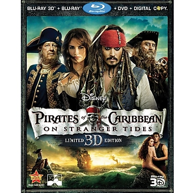 Pirates Of The Caribbean: On Stranger Tides (Blu-ray + DVD + Digital Copy)