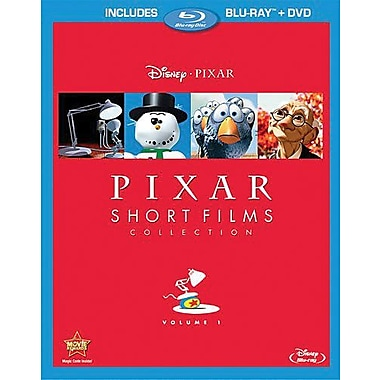 Pixar Short Films Collection Volume 1 (Blu-Ray + DVD)