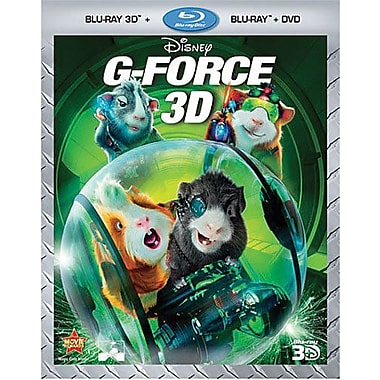 G-Force 3D (Blu-ray + DVD)