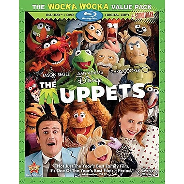 Muppets, the (Blu-Ray + DVD + Digital Copy)