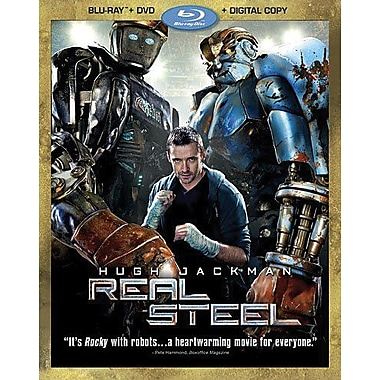 Real Steel (Blu-Ray + DVD + Digital Copy)