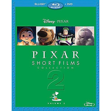 Pixar Short Films Collection Volume 2 (Blu-Ray + DVD)