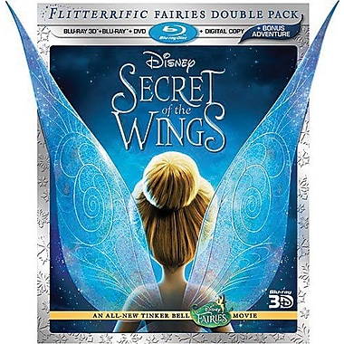 Secret Of The Wings 3D (Blu-ray + DVD + Digital Copy)
