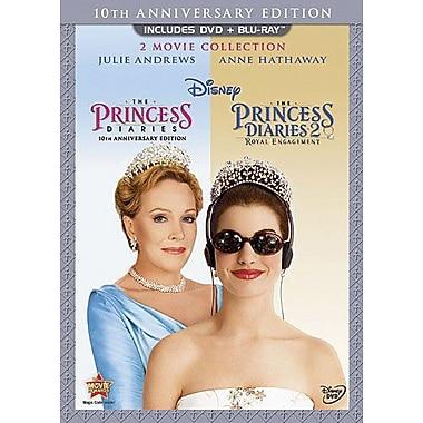 Princess Diaries 10th Anniversary Edition 2-Movie Collection (DVD + Blu-Ray)