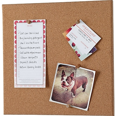 Martha Stewart Home Office with Avery Wall Manager Cork Board