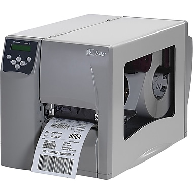 Zebra® S4M00-2001-1700T Direct Thermal Desktop Label Printer, 203 dpi (8 dots/mm)