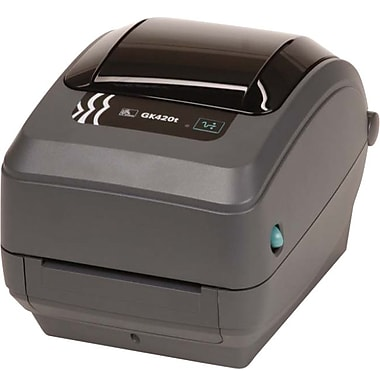 Zebra® GK42-102211-000 Thermal Transfer Desktop Label Printer, 203 dpi (8 dots/mm)