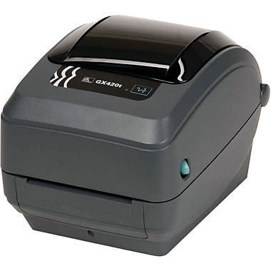 Zebra® GX42-102411-000 Direct Thermal Desktop Label Printer, 203 dpi (8 dots/mm)