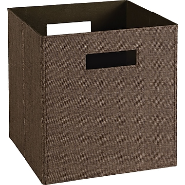 ClosetMaid Elite Fabric Bin, Brown